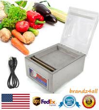 Commercial Chamber Desktop Vacuum Food Sealer Machine Industrial Packaging 120W
