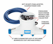 Pro Pool Cleaner HammerHead Pool Vac uses 12 volt Battery for Leaf debris pickup