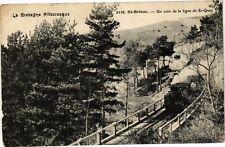 CPA Saint Brieuc-Un coin de la ligne de St Quay (231236)