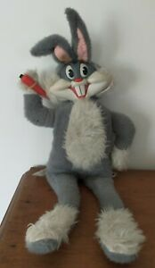 Vintage 1964 Plush Talking Bugs Bunny