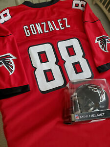 NEW Tony Gonzalez #88 Atlanta Falcons NFL Pro Line Jersey Vintage XL + Bonus!