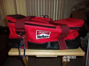 "MARLBORO GEAR COOLER 20"" PICNIC BAG W/DUFFLE BAG STRAP NEW W/TAGS"