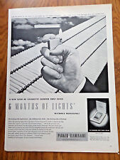 1950 Parker Pen Flaminaire Cigarette Lighter Ad