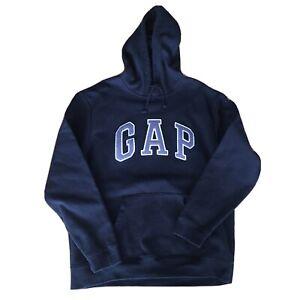 GAP Logo Black Hoodie Size Large