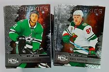 2020-21 Skybox Metal Universe Hockey BASE ROOKIE SP Cards (Pick Your Own)