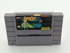 StarFox Star Fox Authentic Super Nintendo EX condition game cartridge
