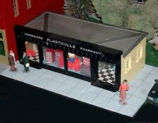 Super-Detail Kit for O Scale Hardware Store (Plasticville or other)