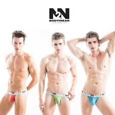 Mens N2N Bodywear Mojave Spring Jockstraps 3 Color Lot - Size Large NWT