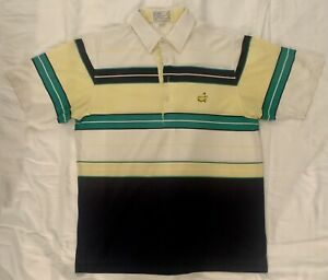 Vintage Master's Augusta National Golf Shop Polo Size Adult Large