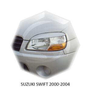 JDM Suzuki Swift 2000-2004 Eyebrows Eyelids Eye Line Unpainted 2 pcs