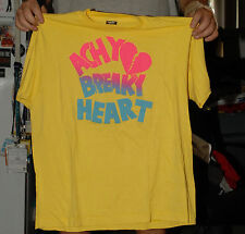 ACHY BREAKY HEART VINTAGE 1990'S BILLY RAY CYRUS T SHIRT MILEY SCREEN STARS BLAC
