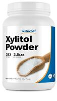 Nutricost Pure Xylitol Powder 2.5 LBS