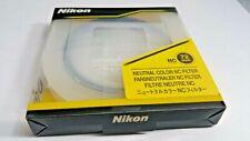 Nikon 72mm NC Neutral Clear Glass lens Filter # 2481 72 mm Genuine Japan OEM