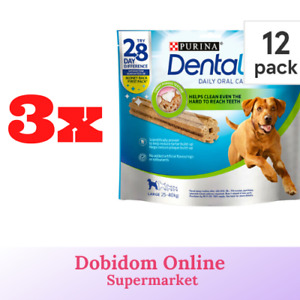 Purina Dentalife Daily Oral Care Chicken Chew Adult Large Dog 36 Sticks