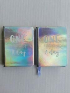 2 x One Thought A Day, Wellbeing Journal reflect, rediscover & Self Coach You
