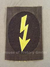 95186 Armabzeichen der Nachrichtenhelferinnen des Heeres, gelber Blitz