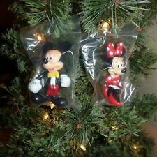 New listing Disney 2 piece - Mickey Mouse & Minnie Mouse Ornament Set - Last One!