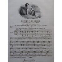 PANSERON Auguste El Voto de Virgen Chant Piano ca1830 partitura sheet music sco