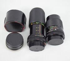 Super Albinar 821203 Vivitar Camera Lens 70-210mm 52mm 1:28 1:45 Part LOT
