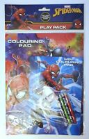 Marvel Spiderman Activity Pack Colouring Books and Pencils Genuine RRP £2.99