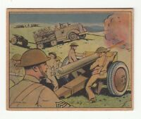 [60836] 1941 GUM INC. UNCLE SAM - SOLDIER TRADING CARD #8 FIELD ARTILLERY