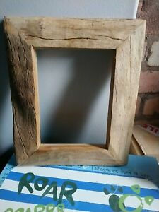 Fantastic Rustic Reclaimed Natural Wood Picture Frame