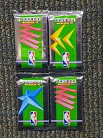 1991-92 Skybox Series 2 Basketball Four-pack lot