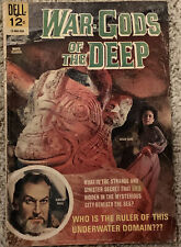 War Gods of the Deep Dell Movie Classic Vincent Price Photo Cover 1965 FN/VF