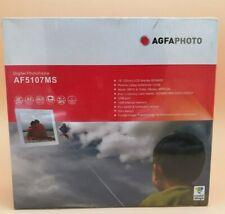 AGFA Digitaler Photorahmen Bilderrahmen AF5107MS OVP
