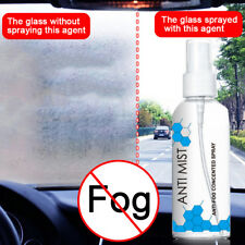 100ml Anti-fog Agent Invisible Hydrophobic Glass Windscreen Window Mist Spray