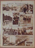 VITA SPORTIVA COPPA ACERBO PESCARA COPPA ZULIANI PADOVA ABRUZZO VENETO 1931