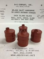 """Grooved End Drain Cap Fitting 4"""" IPS W/ 1"""" FNPT Threaded Outlet"""