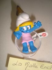 Schleich Smurfs Soccer Series 2003 Goal Kicker Smurf With Tags