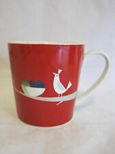 Starbucks 2011 Holiday Partridge Bird Coffee Mug Nest Ornaments