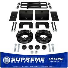 "Fits 2007-2018 GMC Sierra 1500 3.5"" + 3"" Full Lift Kit w/Diff Drop PRO BLACK"