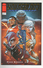 YOUNGBLOOD #1  (2017)  GOLD FOIL Retailer VARIANT  NM