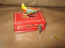 Tin Wind-Up German Toy Bird