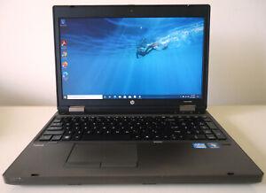HP ProBook 6560b Core i3 2.10GHz 4GB RAM 320GB HDD WIN 10 Pro MS Office Webcam