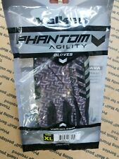 New Valken Phantom Agility Paintball Full-Finger Gloves - Grey/Black - Xl