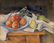 Fruit on a Table by Paul Cézanne 60cm x 48cm Art Paper Print
