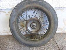 Harley Flathead WL WLA WLD Vorderrad front wheel all original Firestone 1941