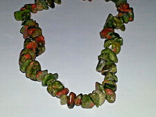 Wholesale 4MM Natural Unakite Gemstone Chips Spacer Loose Beads About 260PC NEW