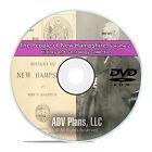 New Hampshire NH Vol 2 People Family History Genealogy 359 Books DVD CD B44
