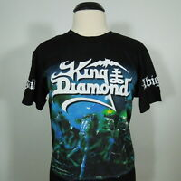 KING DIAMOND Abigail Official T-Shirt Black Men's size M (NEW)