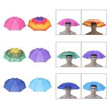 Head Umbrella Anti-Rain Fishing Anti-Sun Umbrella Hat Kids Adults Supplies