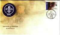 2008 FDC Australia. Centenary of Scouting in Australia. Limited Edition