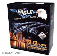 Eagle Ignition Leads 8.0mm - for Commodore VN VP VR VQ V6 & Lexcen E86117BK