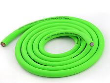 KnuKonceptz KCA NEON Kandy GREEN Ultra Flex 1/0 Gauge Battery Power Ground Wire