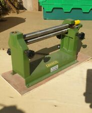 """1 x  BENCH SHEET METAL ROLLER ( SLIP ROLLS) 12"""" 300mm  ENGINEERING TOOLS"""