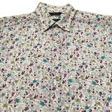 PAUL SMITH The BYARD Shirt FLORAL Size Large